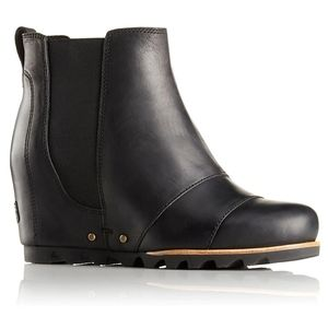 Sorel Lea Wedge size 7 Black